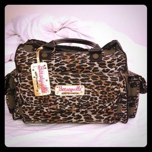 "Betsey Johnson Handbags - ✋❌ON HOLD❌✋ ""Betseyville"" weekenderbag"