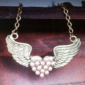Jewelry - Angel Wing necklace and ring