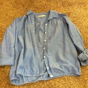 LOFT Tops - Chambray shirt RESERVED TRADE jamie_perkins