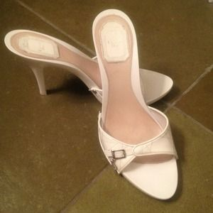 Just Reduced Christian Dior White Sandals