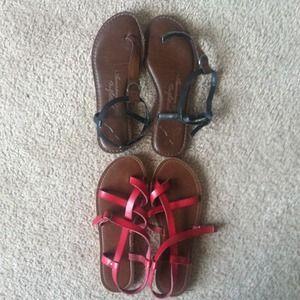 Shoes - Sandal bundle. Both for $35