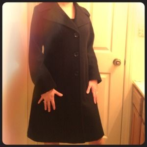Michael Kors Outerwear - Michael Kors Wool Blend Coat