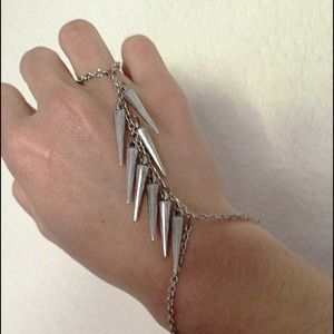 Accessories - Spiked Chain Bracelet