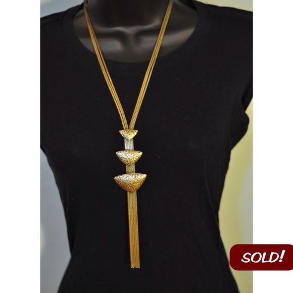 Accessories - 🚫SOLD!🚫Triangle Bolo Necklace