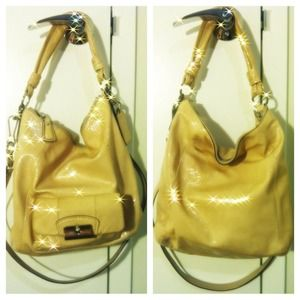 Coach Handbags - Coach patent leather handbag
