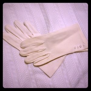 Accessories - Vintage White Gloves