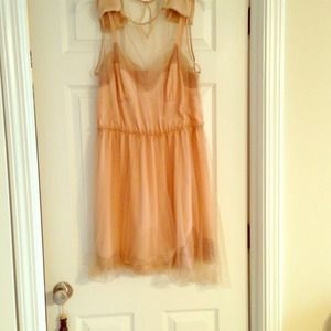 Rodarte dress , blush color