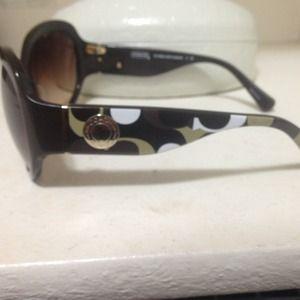 7382adab63824 Coach Accessories - COACH Arabella brown sunglasses.