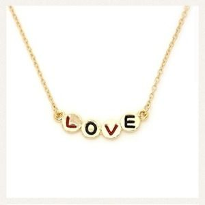 Jewelry - NWOT! ❤️LOVE NECKLACE❤️