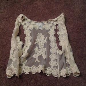 Other - Lace/crochet coverup/vest