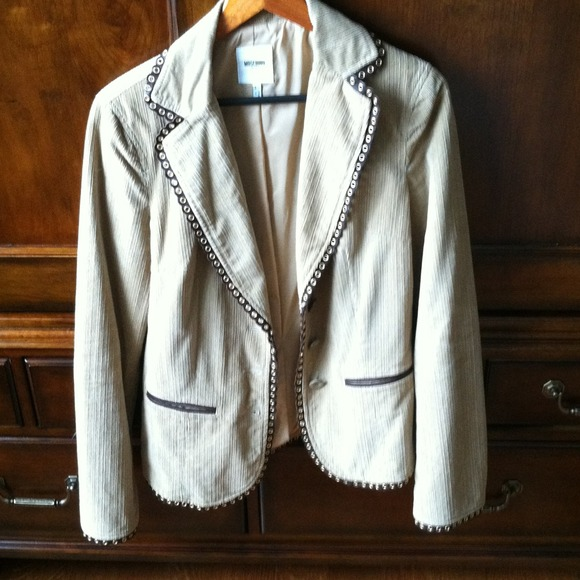 Moschino Jeans Jackets & Blazers - Moschino Jeans Corduroy Jacket!  REDUCED AGAIN!!