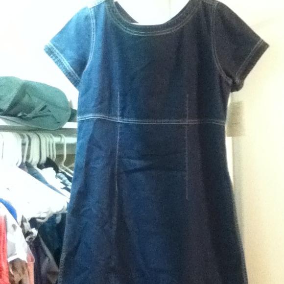 4f881b5b96 Liz Claiborne Denim Dress (Petites)