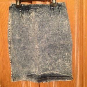 Denim - Jean skirt