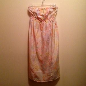 Abercrombie & Fitch Strapless Dress