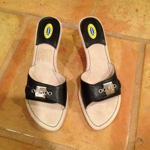 Dr Scholls Shoes - BNWOT Leather Dr Scholls Mules