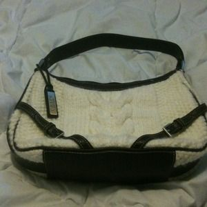 Brand new Chaps wool sweater purse