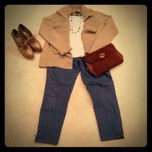 Jackets & Blazers - GAP sweater jacket
