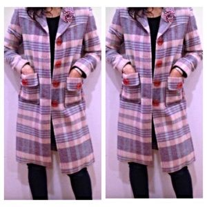 Marc Jacobs stunning wool  coat rare size 4