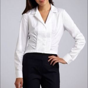 Ellie Tahari white blouse