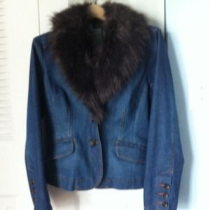 Jackets & Blazers - INC Jacket with faux fur ***REDUCED***