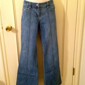 """Nwot sz 4 ny&co low rise boot cut jean, 31"""" inseam"""