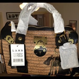 New with tags L.A.M.B. satchel purse