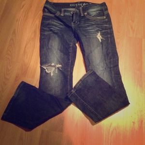 Guess Denim - Distressed Guess Jeans