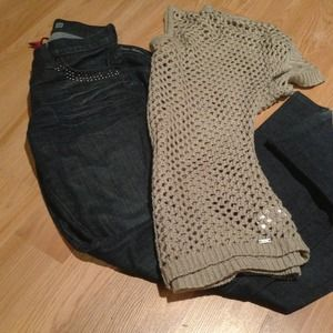 Guess Denim - Bundle Guess Sweater & Guess Jeans!!