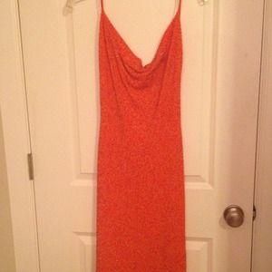 Dresses & Skirts - Alexia Admor orange beads dress