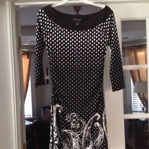 White House Black Market Dresses & Skirts - WHBM black/white dress ☑️☑️