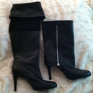 Leather Boots, made by TAHARI