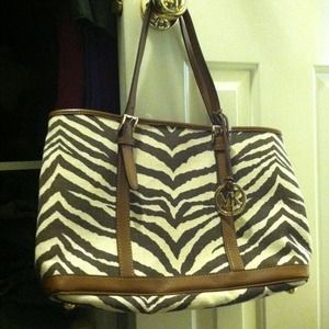 Michael Kors Handbags - ReducedNew MK tiger stripes tote.