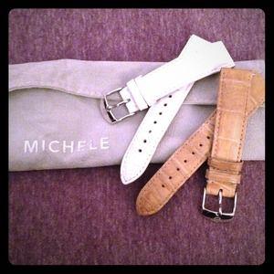 Michele Accessories - Authentic Michele Alligator watch straps