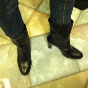sudini Boots - Sidini mid calf boots.