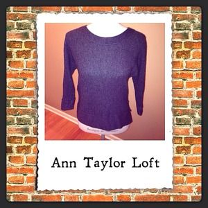 LOFT Sweaters - 🚫SOLD🚫Black sweater-Ann Taylor Loft