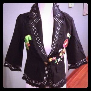 🎉🎉HOST PICK🎉🎉Rhinestone Jacket