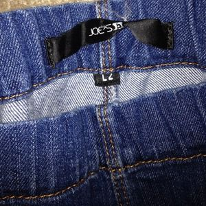 Joe's Jeans Denim - Joe's jeans size L2 zip bottom jeggings like new!