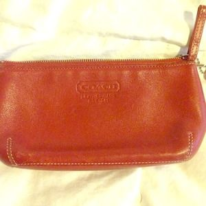 Coach Handbags - Authentic COACH accessory leather bag.