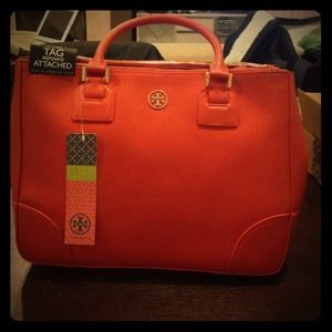 Tory burch Robinson double zip purse