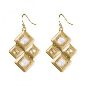 """Out of stock Feminine & Edgy """"Alex"""" Earrings"""