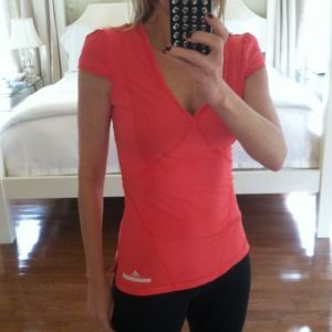 Adidas Tops - Stella McCartney for Adidas Run/Yoga Vneck