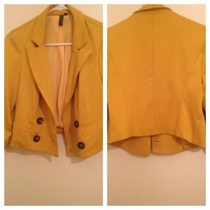 Jackets & Blazers - Mustard Blazer