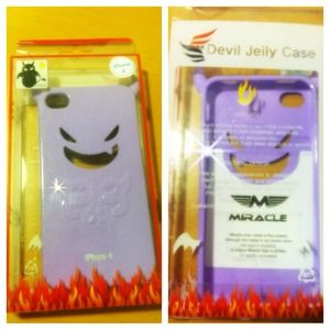 Accessories - Devil iPhone4/4S case