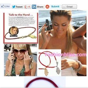 Jewelry - ⬇Hamsa Red String Kabbalah Bracelet