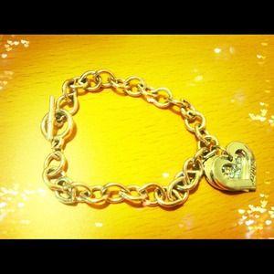 Jewelry - Silver heart charm bracelet