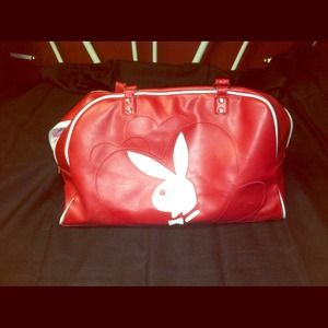 Red Playboy Bag/purse