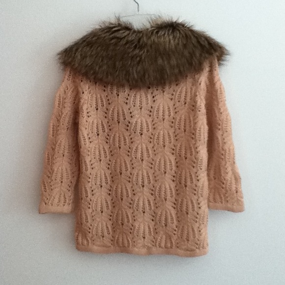 Forever 21 Sweaters - Brand New Fur Sweater Cardigan 2