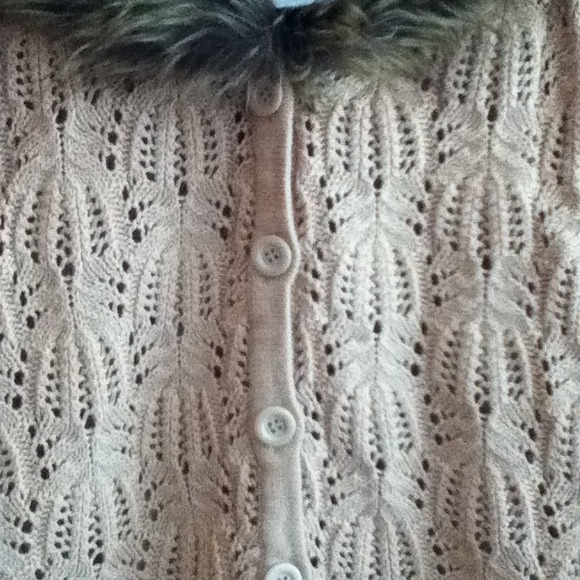 Forever 21 Sweaters - Brand New Fur Sweater Cardigan 4