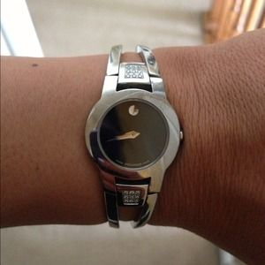 Accessories - Woman's Movado watch with Diamonds In Box
