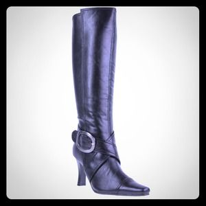 Black Knee High Boots by Chinese Laundry